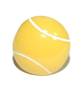 "5/8""  YELLOW RESIN TENNIS BALL TIE PIN TACK (141)"