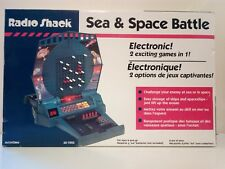 RADIO SHACK SEA & SPACE BATTLE ELECTRONIC AGES 6+