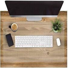 More details for clear desk pad, office desk mat, waterproof non-slip desk table protector,