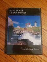Tim Janis - Coastal America (DVD, 2006) George Clooney narration