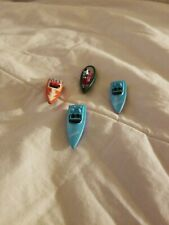 Micro Machines Boats - Lot of 4