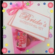 BRIDE'S SURVIVAL KIT Engagement - Wedding Gift- Bride to Be
