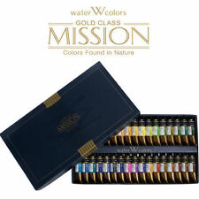 MIJELLO Mission Gold Class Watercolor Paints 15mlx34Colors MWC-1534 -Expedited!!