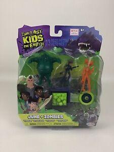 Netflix The Last Kids On Earth Toys June Zombies Figure 13pc Playset Jakks 2019