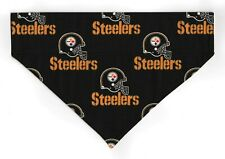 PITTSBURGH STEELERS NFL Football Pet Dog or CAT Bandana Scarf  BLK *Made in USA*