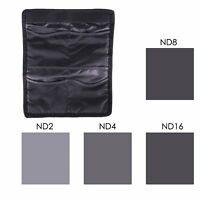 4 pcs ND2 ND4 ND8 ND16 Neutral Density Filter for Cokin P series with Case