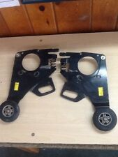 Permobil C300 Front Caster Wheels Support Safety Anti Tip & Mount