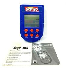 Electronic Skip-Bo Handheld Game Mattel 2002 Tested Works Great Manual Included