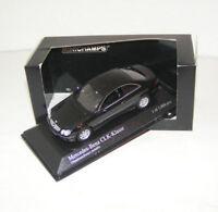 Mercedes-Benz CLK-Klasse W 209 - 2001 - black metallic - Minichamps 1:43