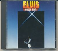 MOODY BLUE - ELVIS PRESLEY - RCA/BMG - BLUE LABEL - 2428-2-R  - 1988 - CD