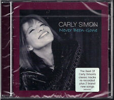 Carly Simon ~ Never Been Gone NEW SEALED CD BEST OF CLASSIC TRACKS RE RECORDED