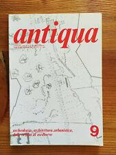 Rivista d'archeologia Antiqua n.9 aprile/giugno 1978