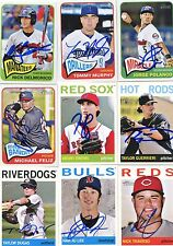Taylor Dugas signed 2013 Topps Heritage Minors Rookie card auto