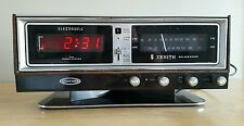 Vintage Zenith Circle of Sound Model H472W Alarm Clock Am/Fm Radio