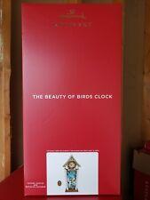 Nib 2020 Hallmark Beauty Of Birds Clock Musical Light Sound Motion