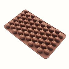 Silicone Chocolate Mould Tray Round Icing Craft Cake Jelly Baking Coffee Beans
