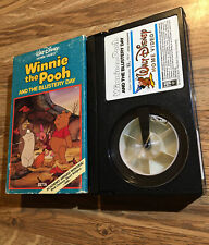 Winnie The Pooh And The Blustery Day Betamax 1984 Family Animation Beta 80's