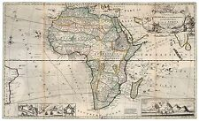 Vintage Map of Africa Moll 1732
