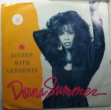 Soul Picture Sleeve 45 Donna Summer - Dinner With Gershwin / Dinner With Gershwi