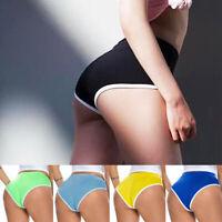 Women Booty Yoga Sports Shorts Summer Running Fitness Workout Hot Pants Briefs