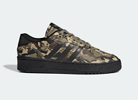 adidas Originals Rivalry Low Leather Shoes Camouflage Trainers