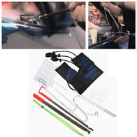 Car Door Unlock Key Lock Out Emergency Opening Unlock Tool Kit W/Air Wedge 12Pcs