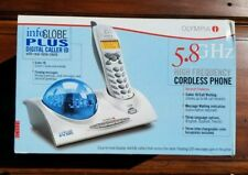 Olympia InfoGlobe Plus OL3020 5.8 GHz Cordless Phone with Caller ID