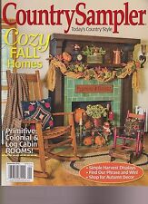COUNTRY SAMPLER MAGAZINE SEPTEMBER 2015, TODAY'S COUNTRY STYLE.