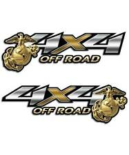 4x4 Truck Sticker - Marines Off Road Decal set for Silverado Tacoma