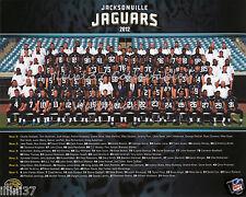 2012 JACKSONVILLE JAGUARS NFL FOOTBALL 8X10 TEAM PHOTO PICTURE