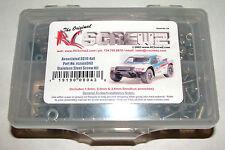 ASSOCIATED SC10 4X4  RC SCREWZ SCREW SET STAINLESS STEEL ASS043