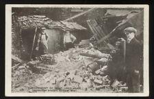 DURHAM Hartlepool Shell WW1 Destruction PPC
