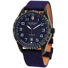Victorinox Airboss Automatic Blue Dial Men's Watch 241820