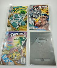 DC Doomsday & Death of Superman Comic Books