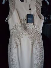 BNWT Forever Unique Nude Joanna Lace  Dress  Size UK 6