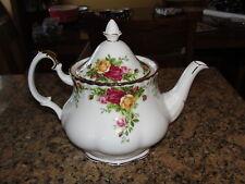 Vintage Royal Albert Old Country Roses Teaspot Tea Pot