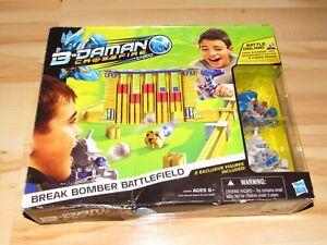 B-Daman Crossfire Break Bomber Battlefield Open Box Pieces Sealed Complete 2013
