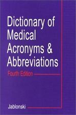Dictionary of Medical Acronyms & Abbreviations-ExLibrary
