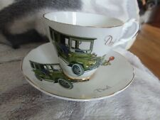 LOVELY VINTAGE FATHERS DAY PRESENT CUP & SAUCER BONE CHINA BY Argyle