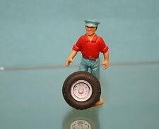 PA025 - Roue avec pneu 18mm pour Camion, remorque, caravane, etc...