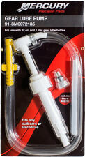 New Mercury Gear Lube Pump with Metric Adapter - Part 91-8M0072135