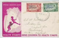 new zealand 1948 stamps cover ref 19921
