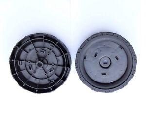 2 Stück Rad 5,5 Zoll Vorne für Makita DLM380 DLM380Z 2x18V Akku-Rasenmäher