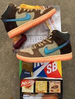 "In Hand Special Box size 7 Concepts X Nike SB Dunk High Pro ""Turdunken"" Wtd Tiff"