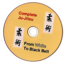 Ju Jitsu from white to black belt FULLY PRINTED DVD