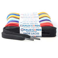 9MM FLAT TRAINER SHOE LACES 1 PAIR STRONG SNEAKER SPORTS & BOOT LACES 35 COLOURS