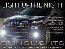 2014 2015 2016 2017 Jeep Cherokee Xenon Fog Lamps Driving Lights Kit