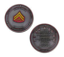 US Marine Corps Semper Fidelis Corporal Challenge Coin