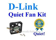 Quiet D-Link DNS-320 DNS-323 Fan Kit 10dBA Noise Best for Home Networking