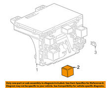 Cadillac GM OEM 2001 Catera Headlight Head Light Lamp-Relay 24432680